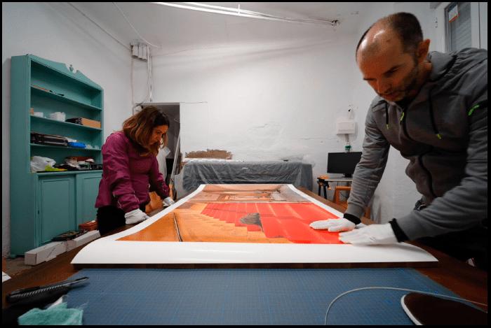 Fernando Paramio, Artsolutely, Visiones de otro continente, Visiones of another continent, Impresión en gran formato, Montaje manual en gran formato, Canon Imageprograf PRO 6000, Canson Infinity
