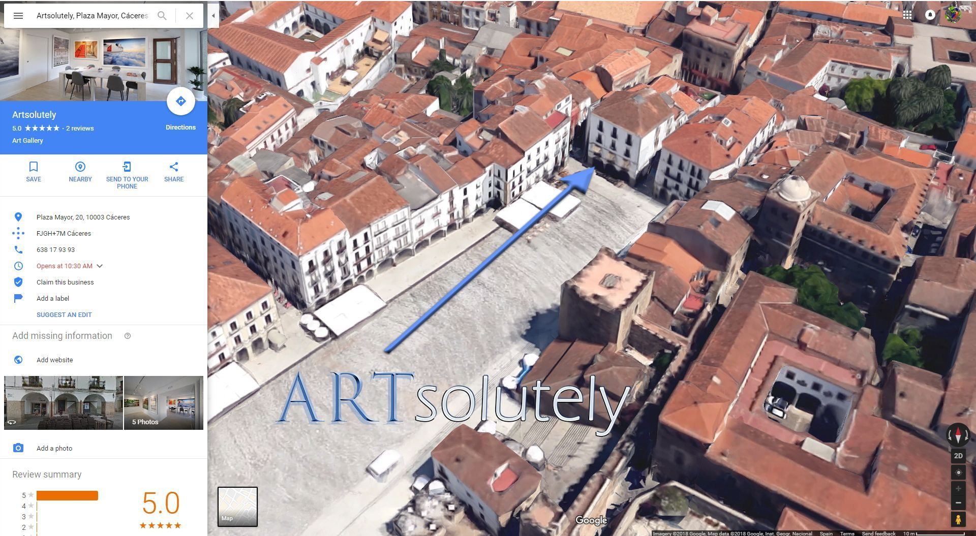 Mapa Plaza Mayor