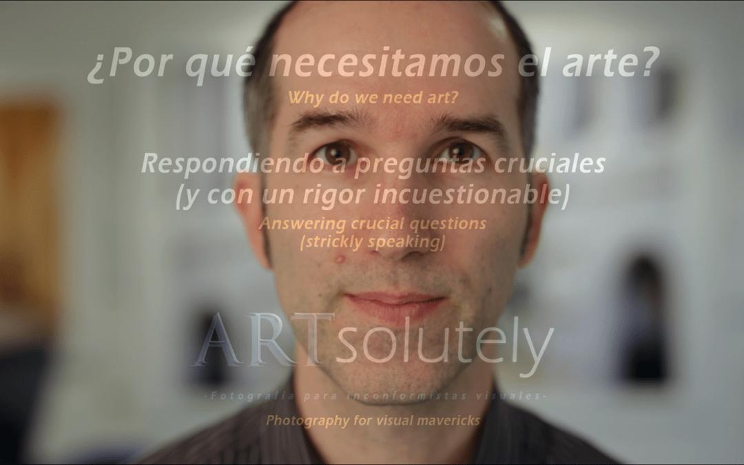 WHY DO WE NEED ART