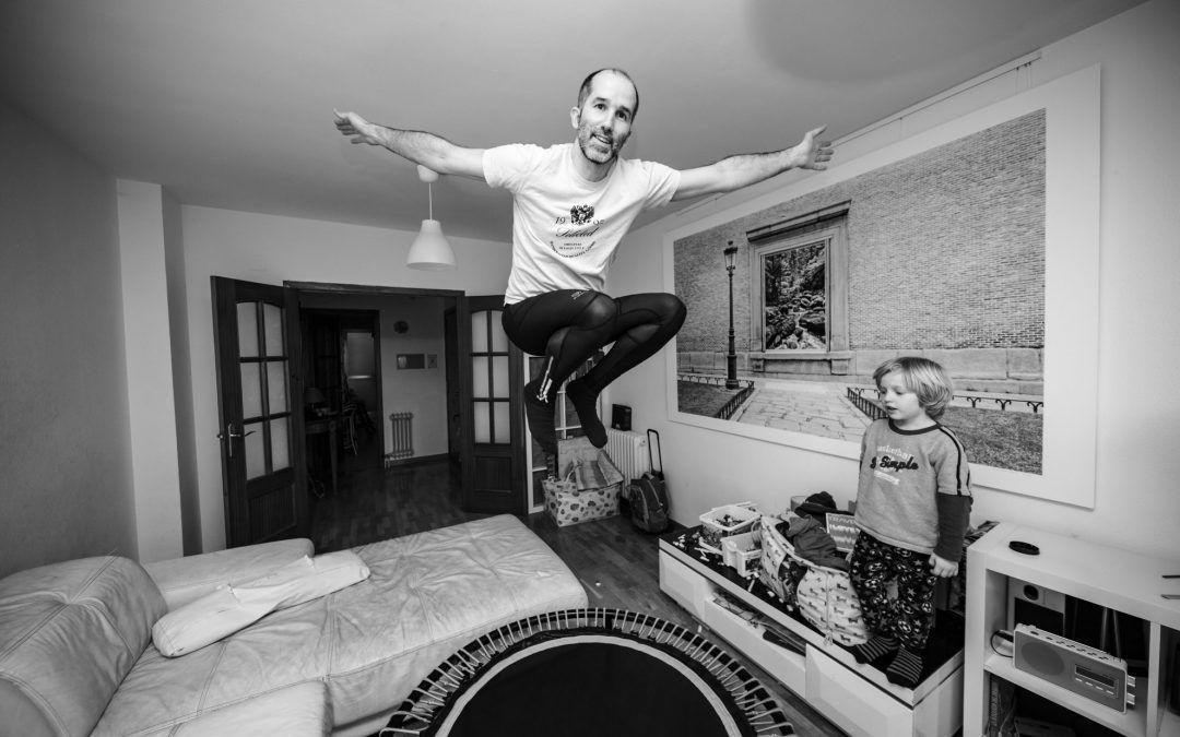 BIG KID JUMPING