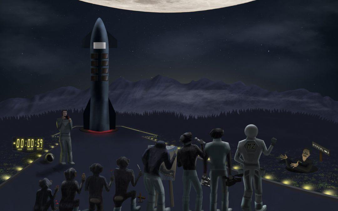 Foto en el último minuto (Proyecto Dear Moon)